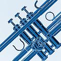 Monochrome Trumpet by M K  Miller