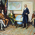 Monroe Doctrine, 1823 by Granger