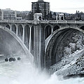 Monroe St Bridge 2 - Spokane Washington by Daniel Hagerman