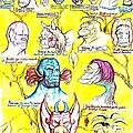 Monster Genealogy by Jamie Jonas