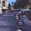 Monte Carlo Casino Corner by John Bowers