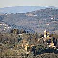 Montegufoni Castle by Francesco Scali