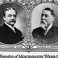 Montgomery Ward Founders by Granger