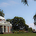 Monticello Grounds by DigiArt Diaries by Vicky B Fuller