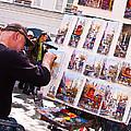 Montmartre Street Artists by Jon Berghoff