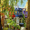 Montreal  Architecture 2 by Diane Dugas
