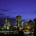 Montreal Night by David Leblanc
