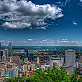Montreal View by Mike Horvath