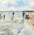 Montrose Beach by Paula Nathan
