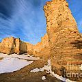 Monument Rocks In Kansas by Adam Jewell