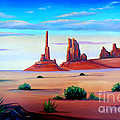 Monument Valley by Don Monahan