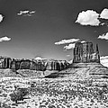 Monument Valley In Monochrome  by Saija  Lehtonen