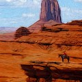 Monument Valley Pastel by Steve K