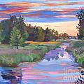 Moody River by David Lloyd Glover