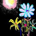 Moon Garden by Enriquemontana Garcia
