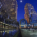 Moon Over Financial Center by Anthony Festa