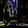 Moon Over Manhattan by Steve K
