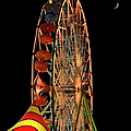 Moon Over The Ferris Wheel by Endre Balogh