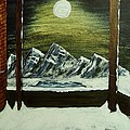 Moon Over The Mountains by Gordon Wendling
