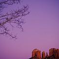 Moonrise Over Oak Creek Canyon by Stockbyte
