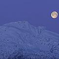 Moonset At Dawn by Yuichi Takasaka