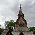 Moorhead Stave Church 2 by Cassie Marie Photography
