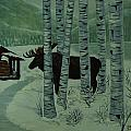 Moose Lake by Barbara St Jean