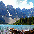 Moraine Lake Banff National Park Alberta by Bruce Ritchie