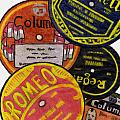 More Old Record Labels  by Mel Thompson