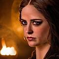 Morgan Pendragon Eva Green by Jennifer Hickey