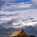 Mormon Barn Morning by Joseph Rossbach
