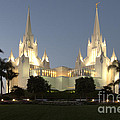 Mormon Cathederal San Diego 2 by Bob Christopher