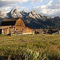 Mormon Row Barn by Paul Cannon