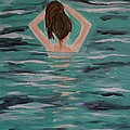 Morning Dip by Leslie Allen