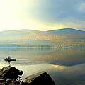 Morning Fisherman by Marie Fortin