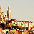 Sacre Coeur In A Summer Morning by Ivy Ho