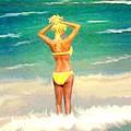 Morning On The Beach 2 by Eric Sosnowski