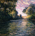 Morning On The Seine by Claude Monet