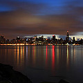 Morning Over Midtown - New York  by Dave Sribnik