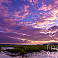 Morning Over The Marsh by Matthew Trudeau
