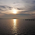 Morning Skies On The Chesapeake by Bill Cannon