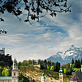 Morning View Of Salzburg From Kapuzinerberg by Greg Matchick