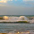 Morning Waves by Lynn Bauer