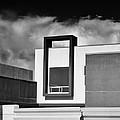 Morrison Window Bw Palm Springs by William Dey