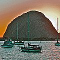 Morro Bay Rock by Bill Owen