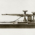 Morse Telegraph Key by Miriam And Ira D. Wallach Division Of Art, Prints And Photographsnew York Public Library