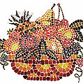 Mosaic Fruits by Irina Sztukowski