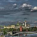 Moscow Kremlin by Michael Goyberg
