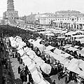 Moscow Russia - The Great Sunday Market - C 1898 by International  Images