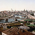 Moscow Russia On The Moskva River - Ca 1900 by International  Images